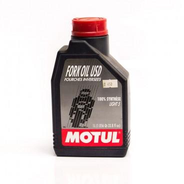 OLEJ DO TLUMIČŮ MOTUL FORK OIL USD V5 1L