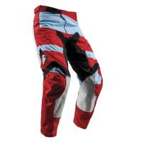 motokrosové kalhoty THOR Pulse Level 2018 powder blue/red