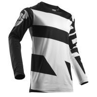 motokrosový dres THOR Pulse Level 2018 white/black