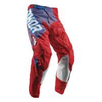 motokrosové kalhoty THOR Pulse Geotec 2018 red/blue