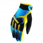 motokrosové rukavice THOR Spectrum Glove 2018 blu/blk/ylw