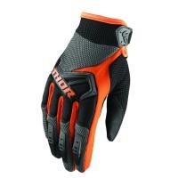 motokrosové rukavice THOR Spectrum Glove 2018 char/org