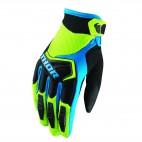 motokrosové rukavice THOR Spectrum glove 2018 green/black/blue