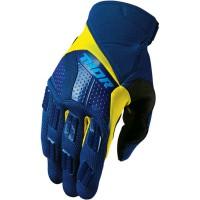 motokrosové rukavice THOR REbound Glove 2018 navy/yelllow