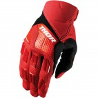 motokrosové rukavice THOR Rebound Gloves 2018 red