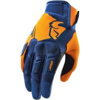 motokrosové rukavice THOR Flow Glove 2018 navy/orange