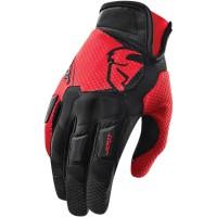 motokrosové rukavice THOR flow Glove 2018 red