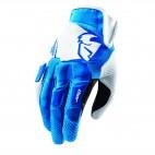 motokrosové rukavice THOR Flow Glove 2018 blue