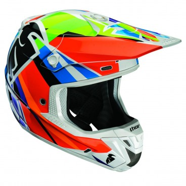 motokrosová přilba THOR Verge Helmets 2018 tracer multi