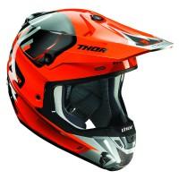 motokrosová přilba THOR Verge Helmets 2018 vortech flo orange/gray