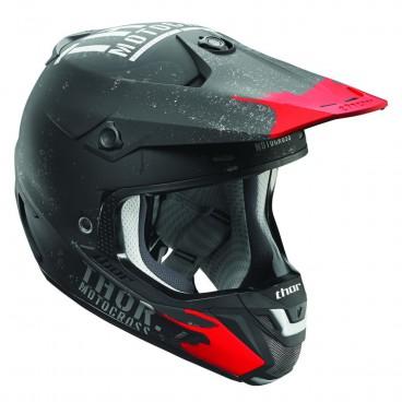 motokrosová přilba THOR Verge Helmets 2018 objectiv black/gray