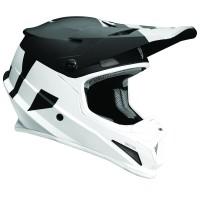 motokrosová přilba THOR Sector Helmet 2018 level black/white