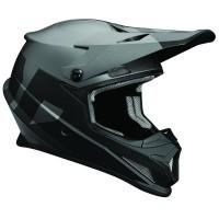 motokrosová přilba THOR Sector Helmet 2018 level black/gray