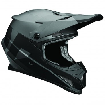 motokrosová přilba THOR Sector Helmet 2018 level black/gray