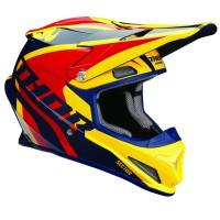 motokrosová přilba THOR Sector Helmet 2018 ricochet navy/yellow/red