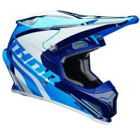 motokrosová přilba THOR Sector Helmet 2018 ricochet blue/navy/white