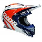 motokrosová přilba THOR Sector Helmet 2018 ricochet navy/orange