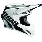 motokrosová přilba THOR Sector Helmet 2018 ricochet white/gray