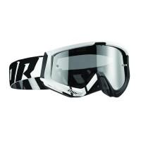motokrosové brýle THOR Sniper Goggles 2018 barred white/black