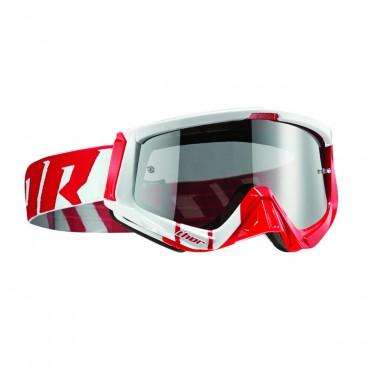 motokrosové brýle THOR Sniper Goggles 2018 barred red/white