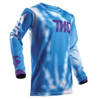 motokrosový dres THOR Pulse air Radiate  blue