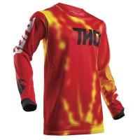 motokrosový dres Thor Pulse air Radiate red