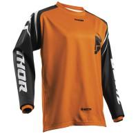 motokrosový dres THOR sector Zones 2018 orange jersey