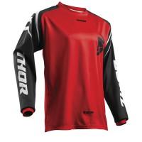 motokrosový dres THOR Sector Zones 2018 red jersey